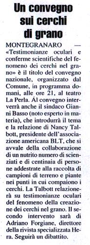 Articolo del 5 ottobre 2006