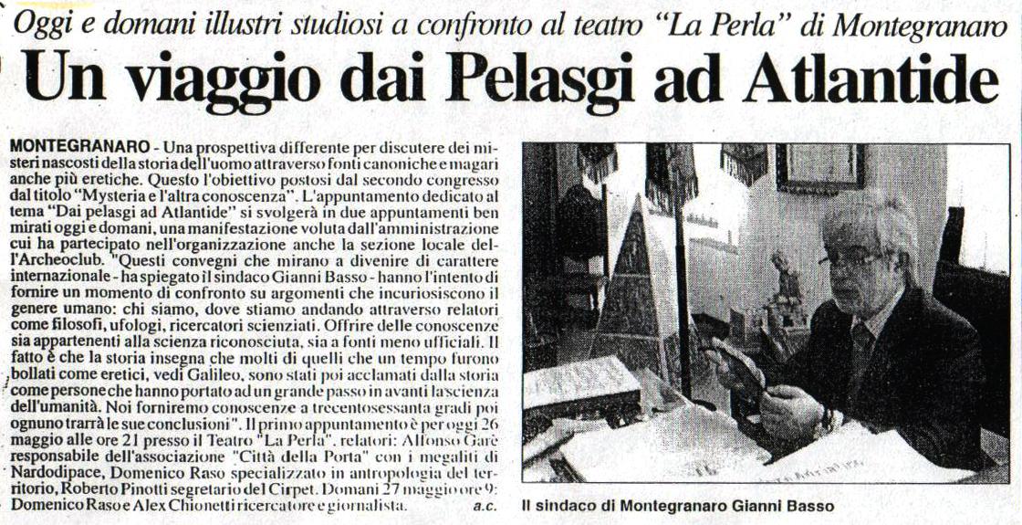Corriere Adriatico - 26 maggio 2006