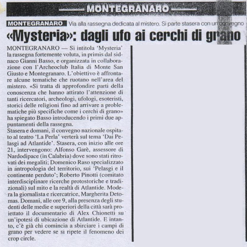 Il Resto del Carlino - 26 maggio 2006