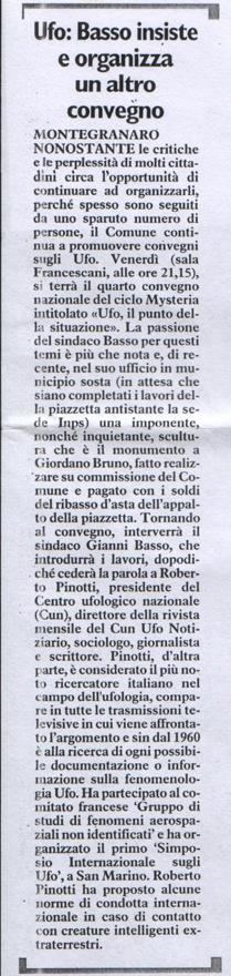 Il Resto del Carlino - 13 dicembre 2006